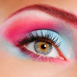 Rainbow brows: Get colorful