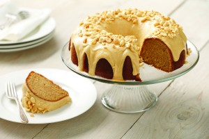 Orange-Kissed Peanut Butter Bundt