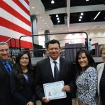 USCIS proudly welcomes legendary Dodger Fernando Valenzuela as a new U.S. Citizen