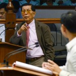 Enrile returns to Senate after dengue bout, gives warning to non-performing agencies