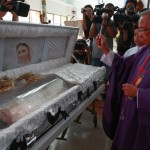US Marine fought but did not murder Laude: lawyer