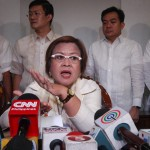 De Lima: No grounds for Tolentino to file petition to stop proclamation of winning senators
