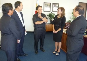 Fil-Am Chamber joins Festival: More than 50 cultures will be represented at the day-long multicultural, multi-ethnic Irvine Global Village Festival in Irvine on September 26. The Filipino American Chamber of Commerce of Orange, whose officers are shown here during a courtesy call to Consul General Leon M. Herrera-Lim recently, will participate in the annual event.