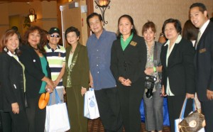 Fil-Am Chamber goes Green: The Filipino American Chamber of Commerce of Orange County will host this year's 7th Annual Green, Conserve and Health Expo  on September 23rd at the Marriott Suites in Anaheim. FACCOC's involvement in the green technology was spearheaded then by Atty. Linda Sarno shown, (4th from left), with other officers of the Chamber and guests  in this file photo of one of the earlier editions of the signature project.