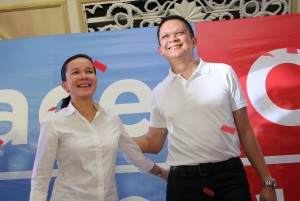 Fellow Senators Grace Poe Llamanzares and Francisco Escudero recently declared their intent to run for president and vice president, respectively. Escudero, in his announcement, stressed that ideal contenders for public office should only be beholden to the Filipino people.