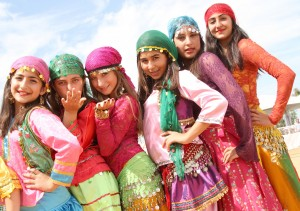 """Multicultural Festival: Bill Barber Park in Irvine """"explodes"""" in color as various ethnic groups put on display the richness of their cultures at an annual festival to celebrate the City's diversity."""