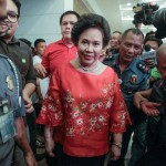 Miriam Santiago files COC for president