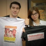 Luis Manzano stands with Angel Locsin in Lumad cause