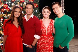 Megan Young, Rafael Rosell, Carla Abellana and Tom Rodriguez (MNS Photo)