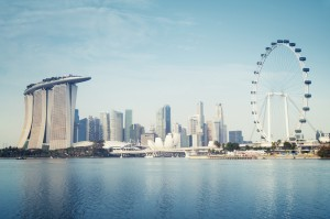 Singpost's new mall could add to the Singapore skyline. ©r.nagy/Shutterstock.Com