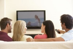 A study found that people who reported watching more than three hours of television per day as young adults were twice as likely to suffer from poor cognition down the road, compared to those who were more active and reported less screen time. ©Monkey Business Images/Shutterstock