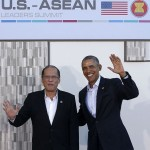 Aquino in Los Angeles for a working visit