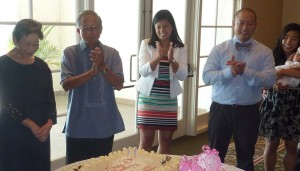 Linda Sarno, you will be missed: The Filipino American communities in Orange County and Los Angeles County lost a great advocate in the person of Linda Sarno who joined her Creator on the first week of February. She left behind a lasting legacy of a life well-lived. She is shown at extreme left in this file photo at the celebration of her birthday and the baptism of her granddaughter.