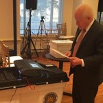 Cuisia casts his ballot, urges overseas Filipinos to vote