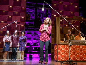 Jessie Mueller as Carole King & cast in 'Beautiful: The Carole King Musical (photo courtesy of http://www.broadway.com/)