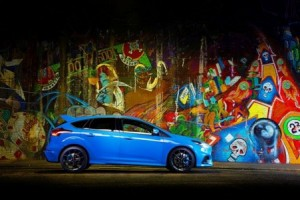 The Ford Focus RS can now be specified with a Mountune-developed performance upgrade. © The Ford Motor Company
