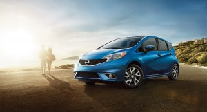 2016 Nissan Versa Note: The 2016 Versa Note is offered in a range of five well-equipped models: S, S Plus, SV, SR and SL. Each is powered by a 1.6-liter DOHC 16-valve 4-cylinder engine. Versa Note S features a 5-speed manual transmission. The S Plus, SV, SR and SL models are equipped with a next-generation Nissan Xtronic transmission, helping them achieve 40 miles per gallon highway fuel economy.