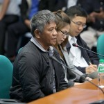 Senators recommend witness Matobato to be placed under Senate custody, protection