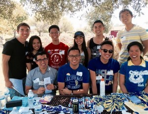 Several UCLA Pilipino alumni and students at UCLA PAA's send-off event.