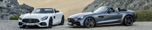 Mercedes-Benz presents two exciting roadster variants of the two-seater sports car. Alongside the AMG GT Roadster, the AMG GT C Roadster