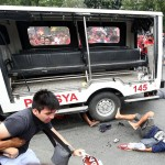 Pedrozo: Police driver was attacked, had no intention of hurting rallyists