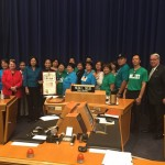 LA Supervisors honor former Hollywood actress-turned-activist
