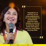 Robredo hopes Duterte will keep promise to stop cussing