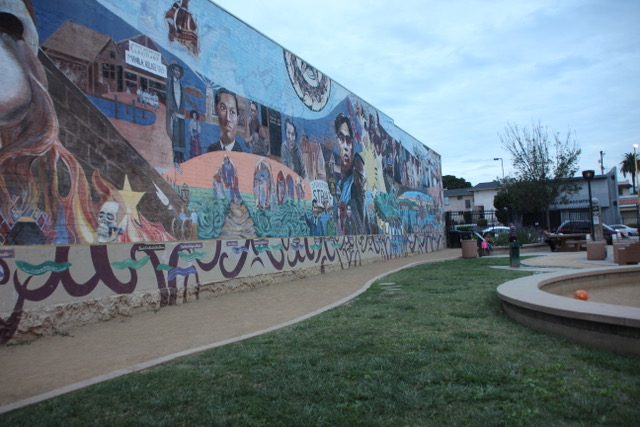 HIDDEN GEM: UnidadPark is situated at Beverly boulevard at the Historic Filipinotown – a huge and beautiful mural (titled Gintong Kasaysayan, gintong pamana) is certain to notify a visitor that the place belongs to a rich heritage.