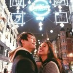 Sweet Liza, Enrique in London for Christmas