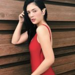 Sofia Andres calls out fan daring her to show more skin